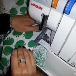 Sewing on the Overlocker - overlocker classes