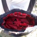 inside the kimono bag