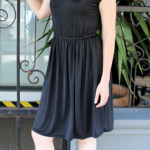 midnight knit dress from Bleecker Street