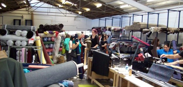 Italian Fabric Warehouse Sale 28th November