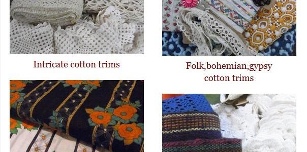 Vintage Fabric Sale.