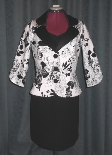 Jacket with black dress 1