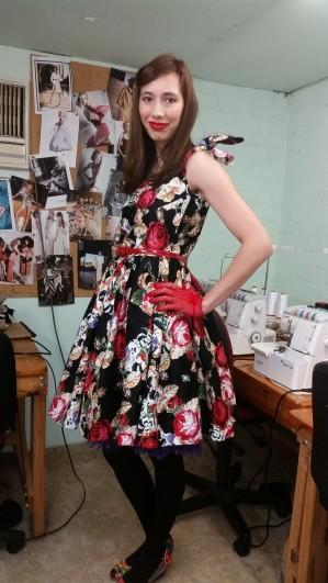 fiona vintage dress 8