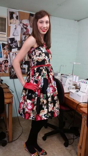 fiona vintage dress 9