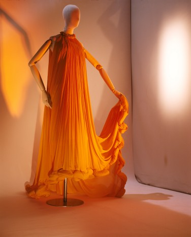 AlberElbaz for Lanvin, long evening dress, Spring-Summer 2008, Les Arts Décoratifs, Mode et Textile collection, in association withLanvin, 2011. Photo: Thierry Dreyfus for Eyesight Group