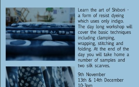 Shibori Workshop 2014
