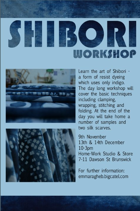 emma ragheb shibori workshop