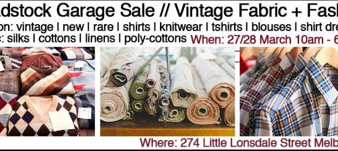 Phillips Vintage Fabric Sale March 27-28
