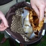 inside Janets kimono bag