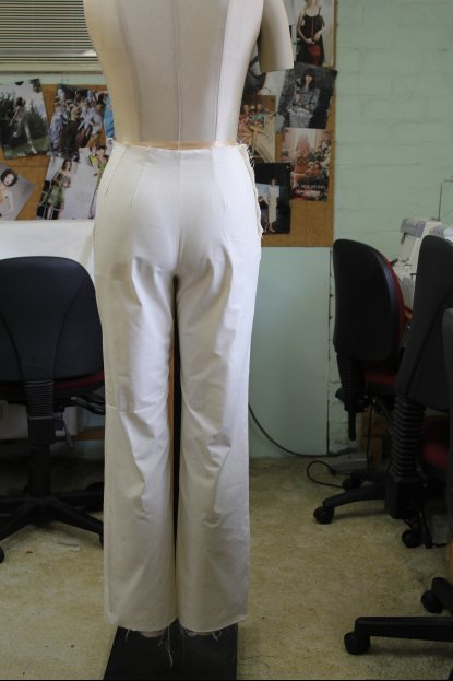The Pants Block Draft – German Versus English Pattern Drafting Systems – straight out of the box !!!!